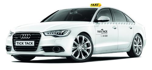 Tick Tack Audi A6 luxusní taxi