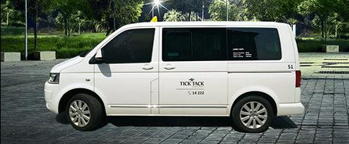 tick tack taxi praha vw transportes big