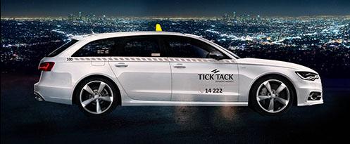 tick tack taxi praha luxury car